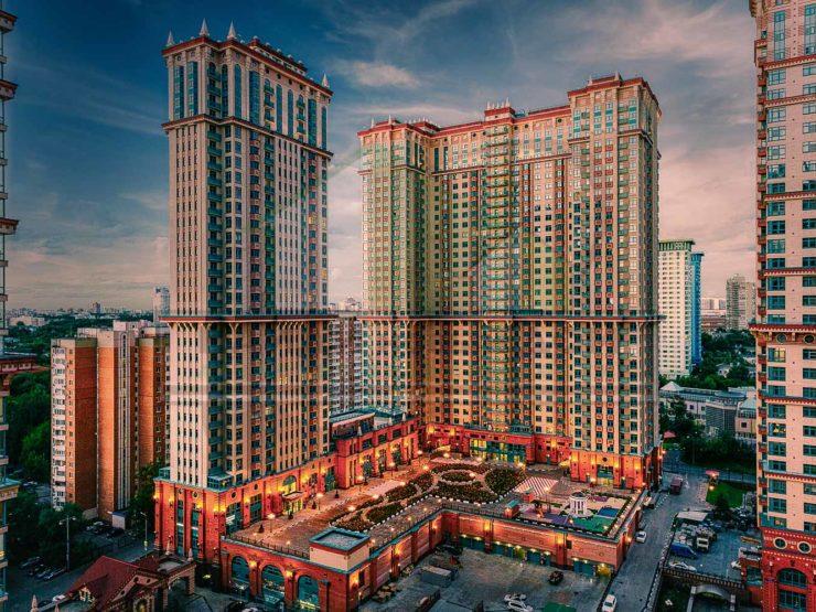 4 комнаты • 134,5м2 • 27 этаж • ЖК Алые Паруса