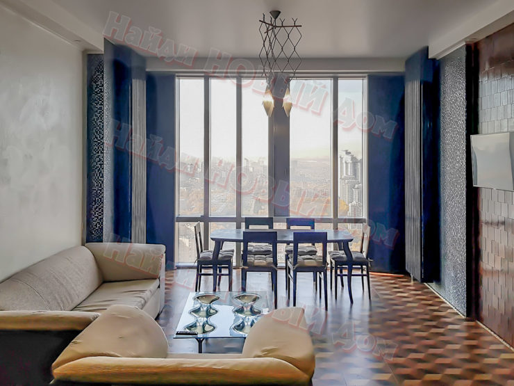3 комнаты • 99м2 • 47 этаж • ЖК Дом на Мосфильмовской
