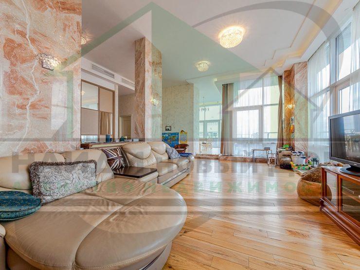 4 комнаты • 235м2 • Пентхаус • 38 этаж • ЖК Воробьевы горы