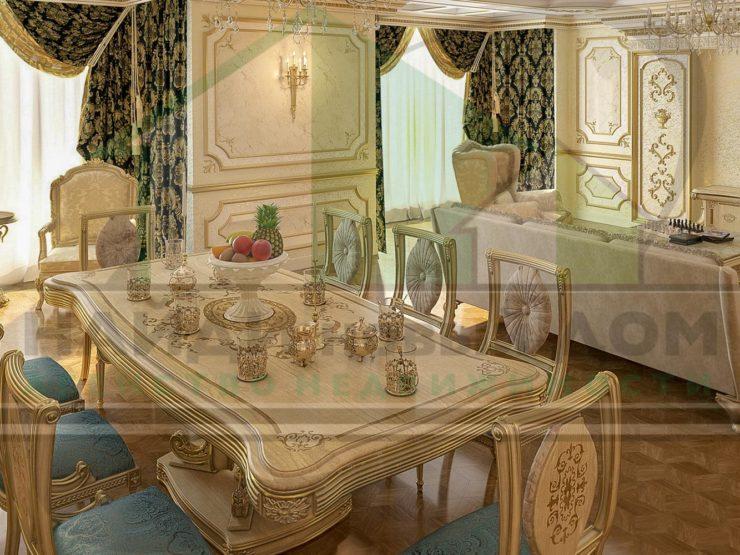4 комнаты • 218м2 • 4 этаж • ЖК Воробьевы горы
