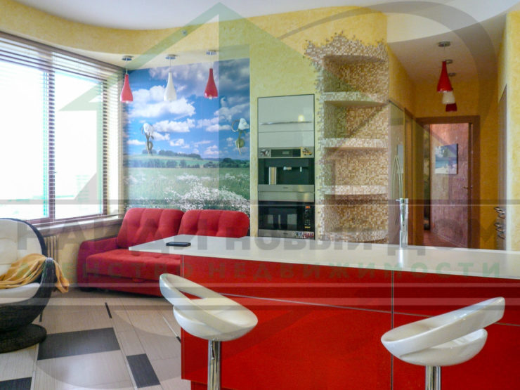 4 комнаты • 186м2 • 21 этаж • ЖК Воробьевы горы