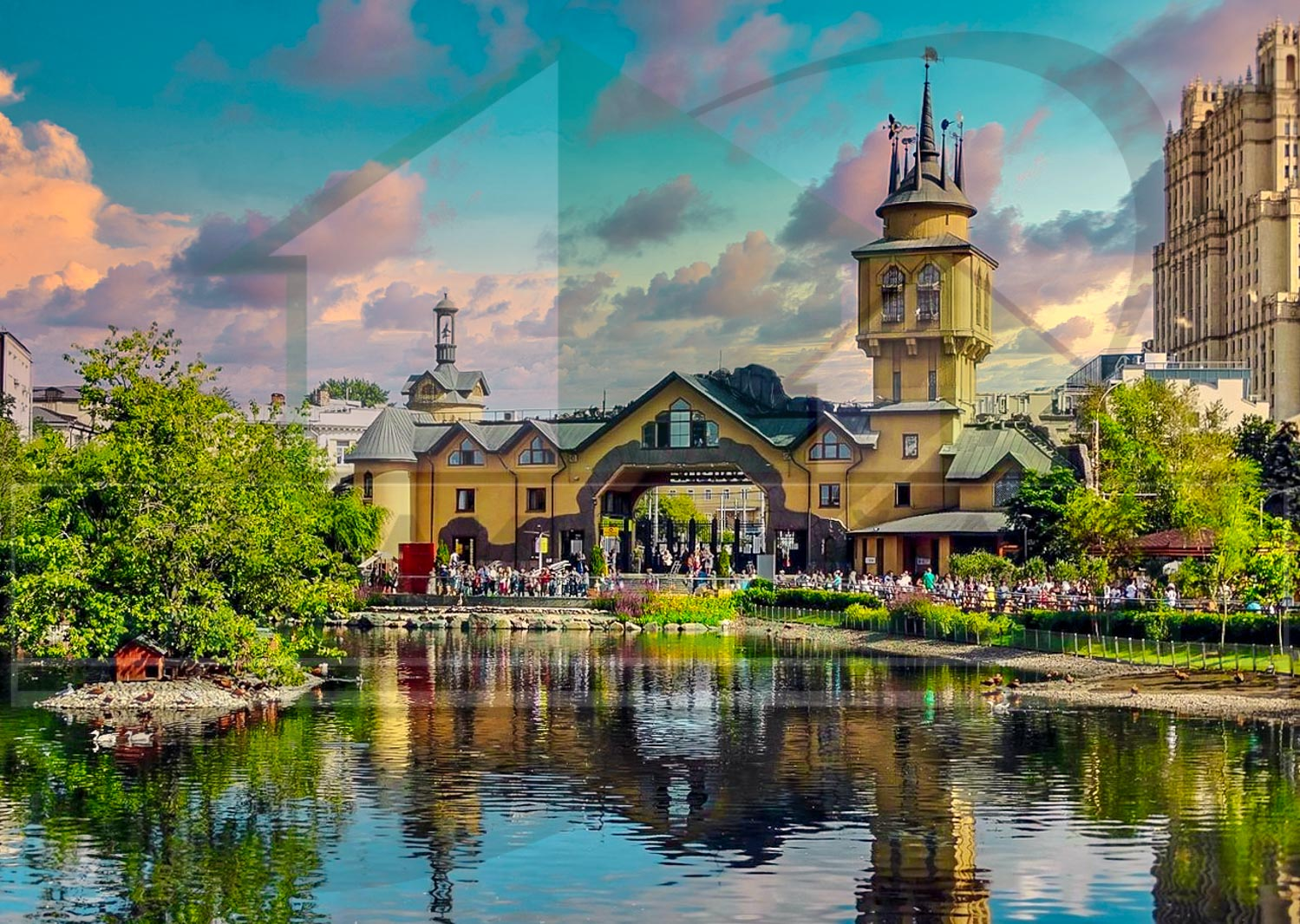 Квартиры на Пресне в Центре Москвы | Агентство элитной недвижимости | Найди Новый Дом | findnewhome.ru