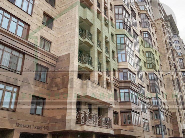 4 комнаты • 131,4м2 • 5 этаж • ЖК Академическая Жемчужина