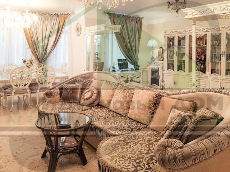 3 комнаты • 135,0м2 • 11 этаж • ЖК Доминион