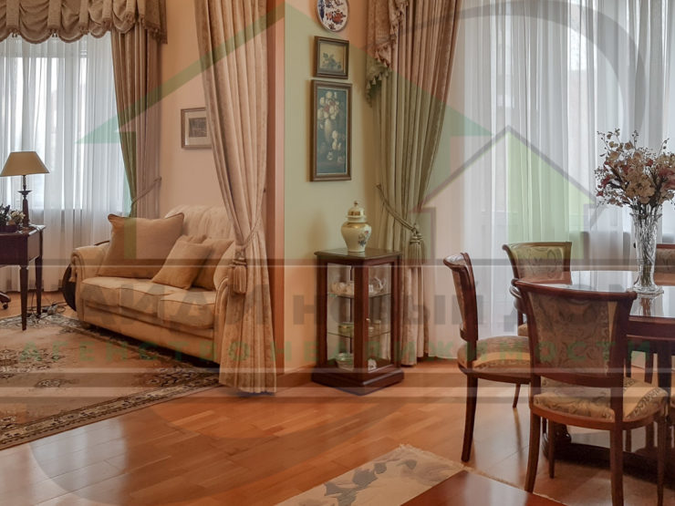 3 комнаты • 104,3м2 • 3 этаж • ЖК Гиляровского 7