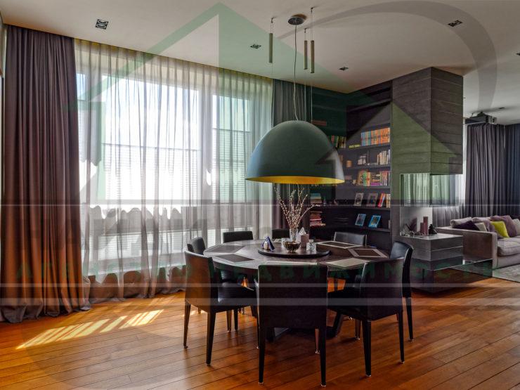 4 комнаты • 180,0м2 • 3 этаж • ЖК Фьюжн Парк
